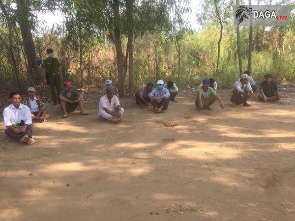 15 đối tượng tham gia đá gà ăn tiền tại Tiền Giang bị bắt giữ
