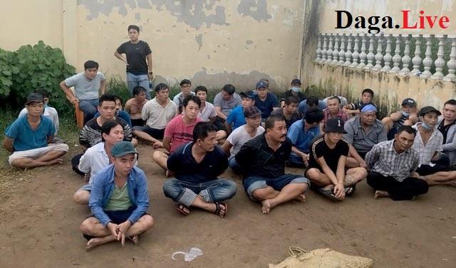Các đối tượng trên bị bắt giữ vì đá gà ăn tiền