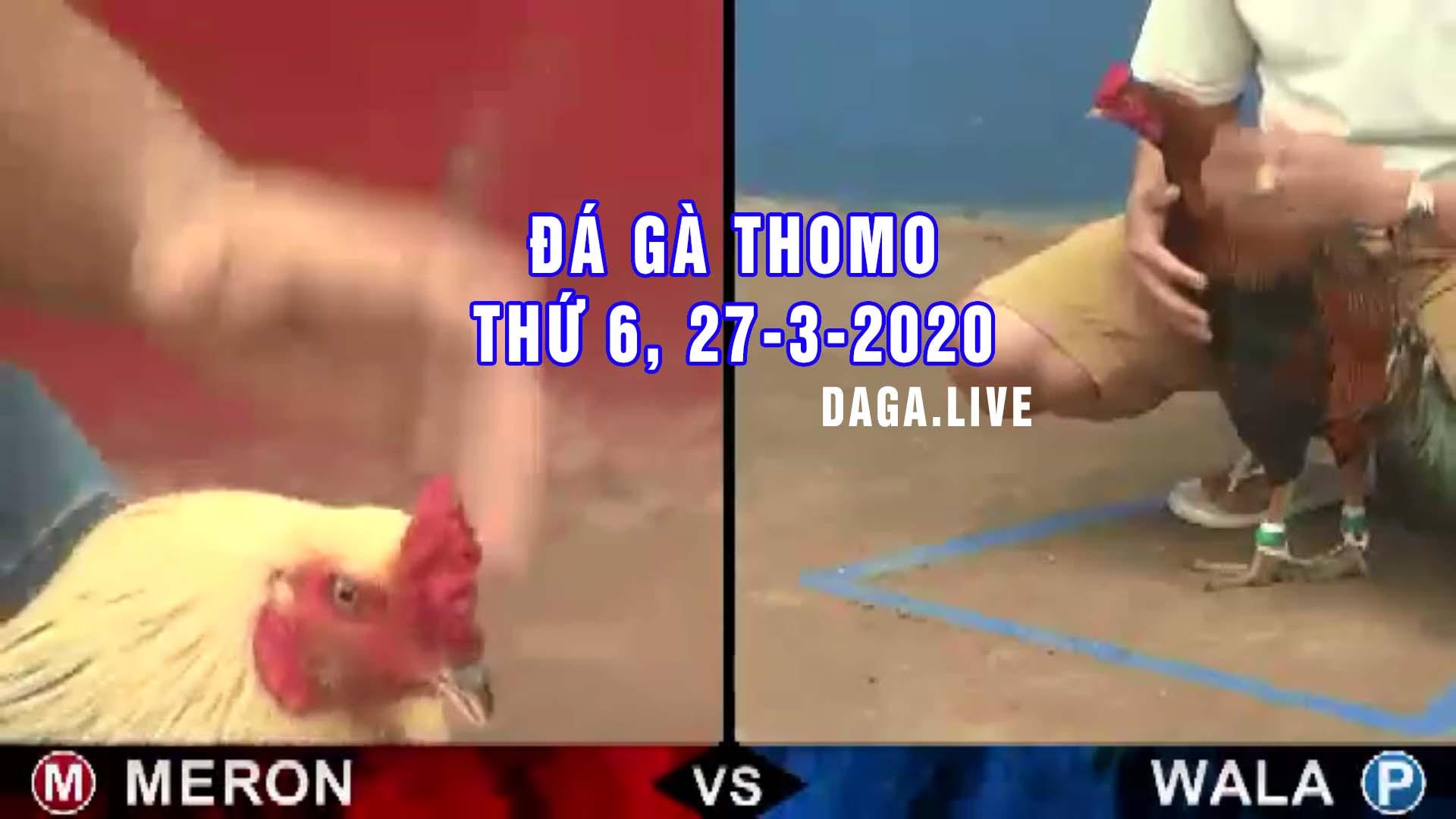 DAGA.LIVE- Đá gà thomo hôm nay, đá gà campuchia, đá gà trực tiếp, đá gà cựa sắt thứ 6 ngày 27-3-2020