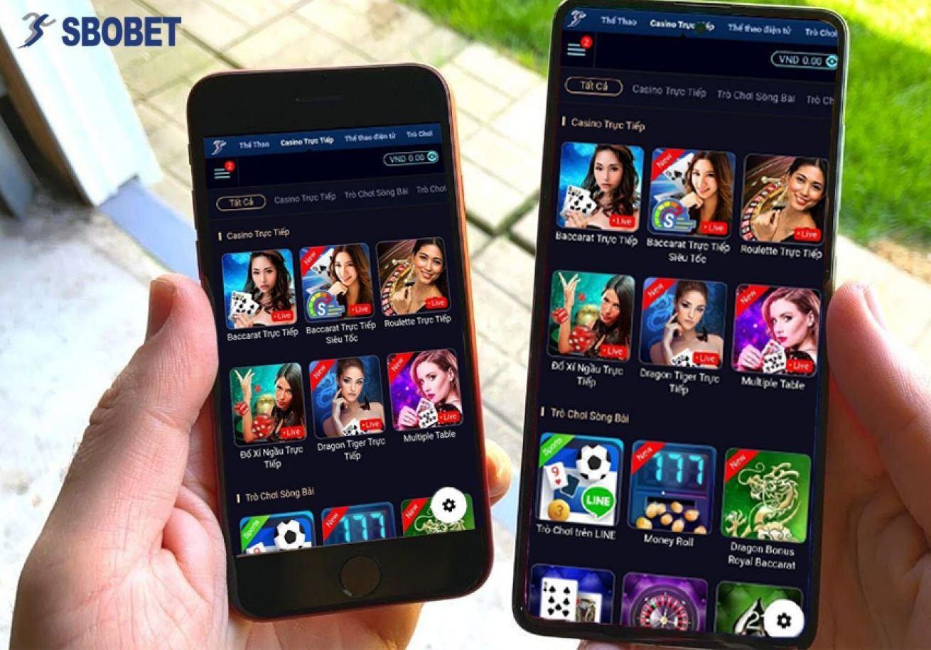Tải về App Sbobet cho điện thoại