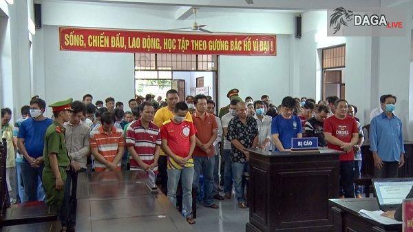 Hậu Giang: Xét xử 39 bị cáo đánh bạc dưới hình thức đá gà
