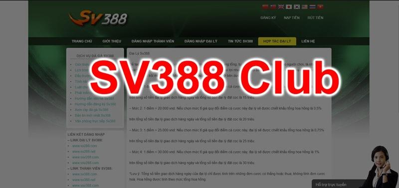 Sv388 club trang cấp link đăng ký sv388